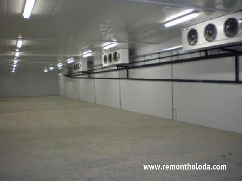 Ремонт холодильных камер в москве
