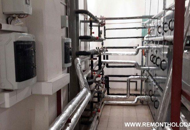 Обслуживание систем вентиляции марки VTS и Korf, г.Воскресенск