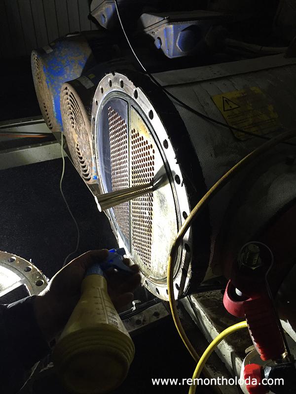 ремонт теплообменников